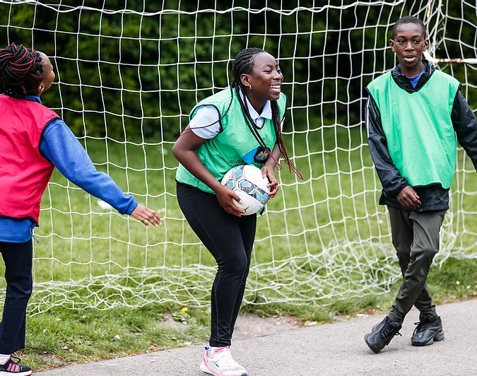 How to encourage girls to participate in sport